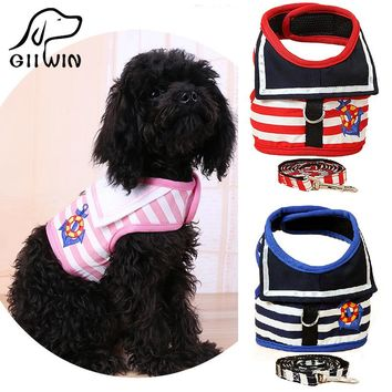 [GIIWIN]Pet Products For Dog Harness Leash Leads Dog-Collar Pet accessories Puppy Vest Dog Harness Leash For Animals PY0511