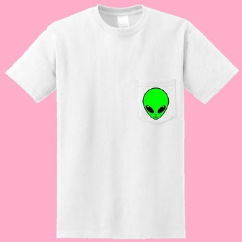Alien Pocket Tee