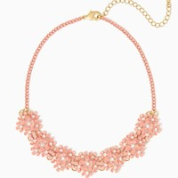 Twinkling Bouquet Necklace | Jewelry - The Perfect Pastels | charming charlie