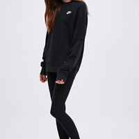 Nike Crew Neck Sweatshirt in Black - Urban Outfitters