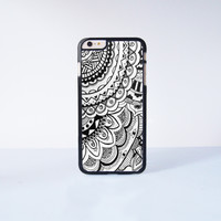 Mandala Plastic Case Cover for Apple iPhone 6 Plus 4 4s 5 5s 5c 6