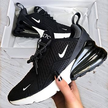 Nike AIR MAX 270 FLYKNIT Fashion casual shoes