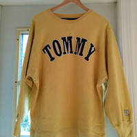 90's Tommy Hilfiger Sweater L
