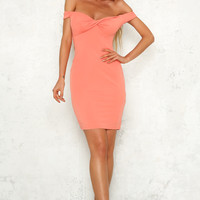 Back For You Dress Coral