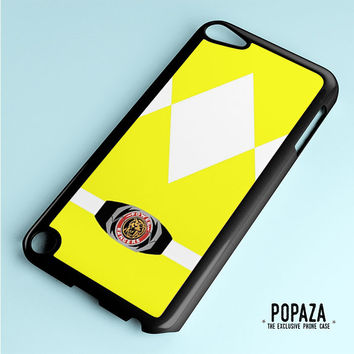 Yellow power Ranger iPod Touch 5 Case