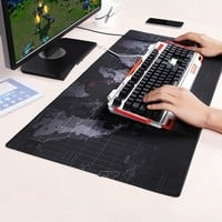 Large Keyboard Mat Gaming Mouse Pad Black Mousepad Mouse Mat Computer Game Table Mat Desk Pad For Dota 2 CS go for Laptop