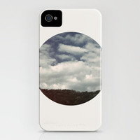 Winter Afternoon (circular) iPhone Case by Galaxy Eyes | Society6
