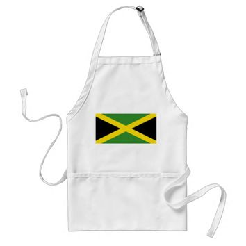 Apron with Flag of Jamaica