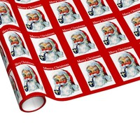 Merry Christmas Santa Claus Wrapping Paper