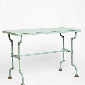 Rustic Pipe Table- Mint One