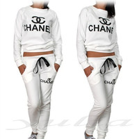 Chanel Sweatsuit Velour, Chanel inspired clothes