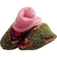 Adwoa Pink Soft-Soled Baby Shoes