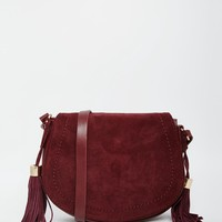 Pimkie Saddle Bag With Tassles at asos.com