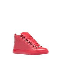 Balenciaga Arena High Sneakers Rouge Grenade - Men's Sneaker