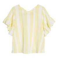 BP. Stripe Tie Back Top | Nordstrom