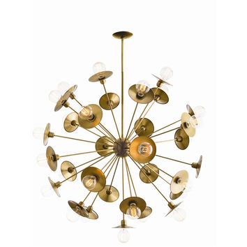 Large Atomic Chandelier