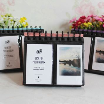 68Pockets Mini Instant Polaroid Photo Album Picture Case for Fujifilm Instax Mini Film instax mini Polaroid album for wedding