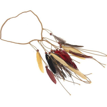 Feather Headband Bohemian Vintage Women Hair Bands Summer Style Hair Accessories Ladies Acessorios Para Cabelo#121 SM6