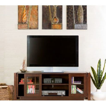 52-inch Wide Flat Screen TV Console / Entertainment Center