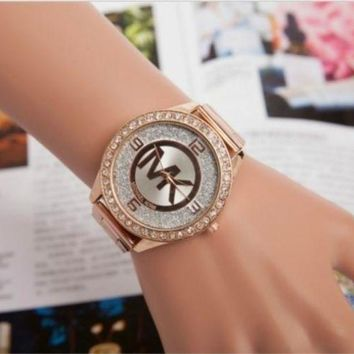 PEAPON MICHAEL KOR WOMENS MENS ROSE GOLD WATCH MK5188 WATCHES