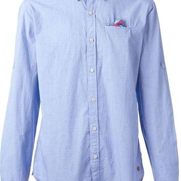 VONEG8Q Scotch & Soda classic shirt with pocket square