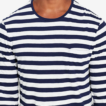 Polo Ralph Lauren Men's Striped Long-Sleeve T-Shirt | macys.com