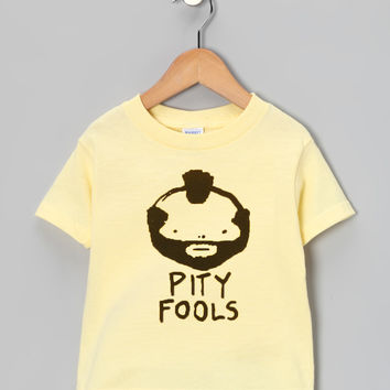 Banana 'Pity Fools' Tee - Toddler & Boys | something special every day