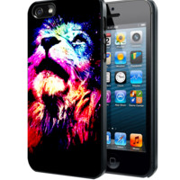 The lion C Samsung Galaxy S3 S4 S5 Note 3 , iPhone 4(S) 5(S) 5c 6 Plus , iPod 4 5 case