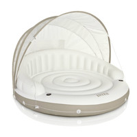 Floating Circular Lounge Bed