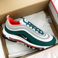 Nike Air Max 97 GS Full-palm air-cushioned running shoes