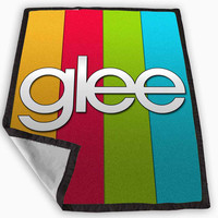 GLEE Blanket for Kids Blanket, Fleece Blanket Cute and Awesome Blanket for your bedding, Blanket fleece **