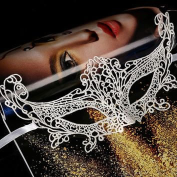 Sexy Lace Eye Mask Ball Party Fancy Dress Lady Gifts Black Women Masquerade Halloween Costumes Carnival Party Mask