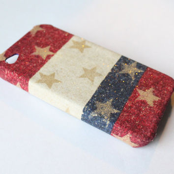 Americana iPhone 4 Case by VanityCases on Etsy