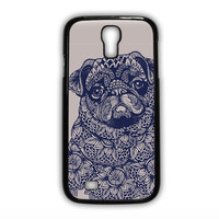 pug mandala for phone case Samsung Galaxy  S3/S4/S5/S6/S6 Edge/S6 Plus/S6 Edge Plus