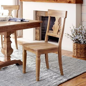 Bradding Natural Stonewash Dining Chair