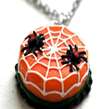 Halloween Cake Necklace