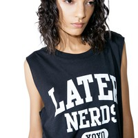 Later Nerds Tank Top