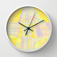 Structures Wall Clock by Dood_L