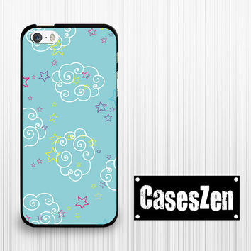 iPhone 6 iPhone 6 Plus iPhone 5s 5c Case, cloud and star Tiffany blue Lg G3 Sony Xperia Z3 compact Moto G Moto X Htc m8 case Samsung Note 4