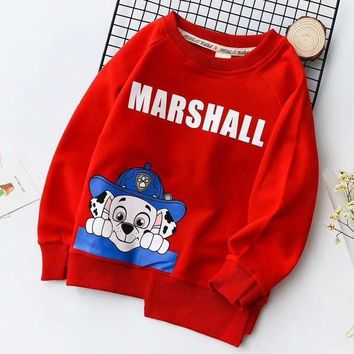 Paw Patrol Girls Boys Children Baby Toddler Kids Child Fashion Casual Top Sweater Pullover