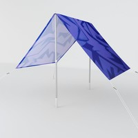 Electric Pop Sun Shade by duckyb