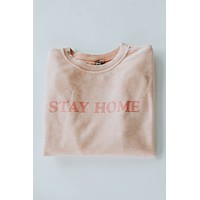 Stay Home Cord Pullover