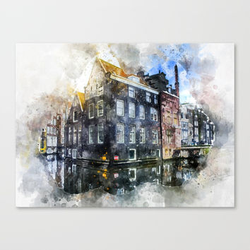 City Palace Canvas Print by creativeaxle