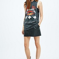 Metallica Master of Puppets Tank in Grey - Urban Outfitters