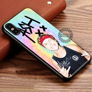 Ashton Irwin in Pastel Tie Dye iPhone X 8 7 Plus 6s Cases Samsung Galaxy S8 Plus S7 edge NOTE 8 Covers #iphoneX #SamsungS8