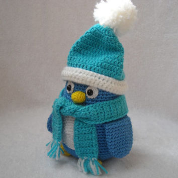 Crochet penguin , amigurumi penguin, crochet penguin, stuffed animals, Soft toys, Holiday gift kids, Unusual handmade.