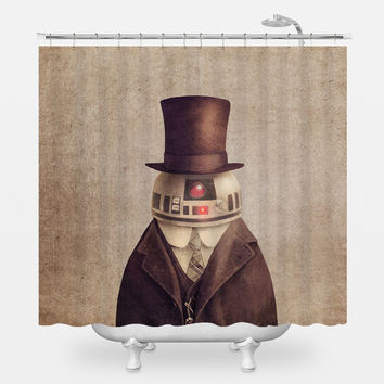 Duke R2 Shower Curtain
