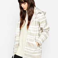 ASOS Rainmac in Block Stripe at asos.com