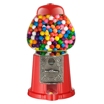 "Great Northern Popcorn 15"" Old Fashioned Vintage Candy Gumball Machine Bank"