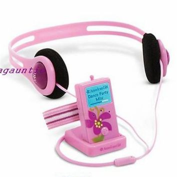 American Girl Mia Meet Accessories Music Player, Headphones, Dock & Armband Only